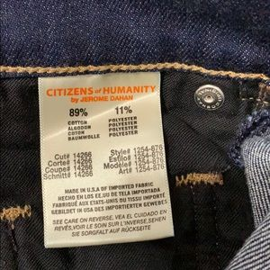 Citizens Of Humanity Jeans - Citizens of Humanity | COH Dylan Drop Rise Crop 27